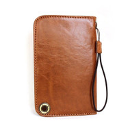 genuine italian leather Case for apple iphone 6 galaxy S5 S4 lg g2 book wallet cover slim handcrafted