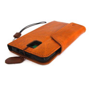 genuine natural leather hard case for Galaxy NOTE 4 LEATHER CASE  handmade cover book pro wallet stand premium