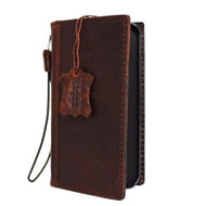 genuine italian leather Case for Htc One M9 book wallet luxury cover s Businesse premium