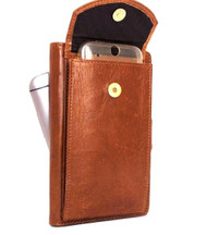 genuine oiled leather Case for htc one m9 and apple iphone 6 plus + galaxy note 4  3 soly z3 z4 book wallet cover luxury