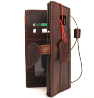 genuine vintage leather Case fit for Samsung Galaxy S6 Edge Plus book wallet luxury cover 6 slim s
