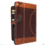 genuine natural Leather Bag for iPad mini 4 case cover handbag apple air slim magnet  sport