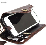 Jafo case genuine real leather  for iphone 5s 5c 5se cover  book wallet credit card c s  luxury il