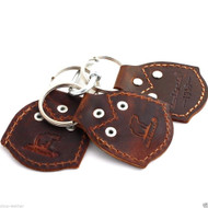 Genuine real leather Key Holder handmade set holder mens small compat Retro case