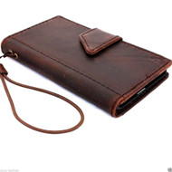 genuine italian leather case fit samsung galaxy s5 hard cover purse pro wallet stand luxury s 5 A1