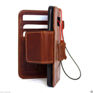 genuine vintage leather Case for Samsung Galaxy S7 Edge book wallet luxury cover 7 slim magnet lite