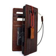 genuine Vintage oiled leather case for Microsoft  lumia 950 cover book wallet credit card magnet luxurey RETRO
