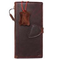 Genuine vintage natural leather Case for Google Pixel book wallet luxury cover JP magnetic