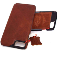 Genuine  luxury6 6s  iphone 7 handmade leather case slim (v) oiled italia