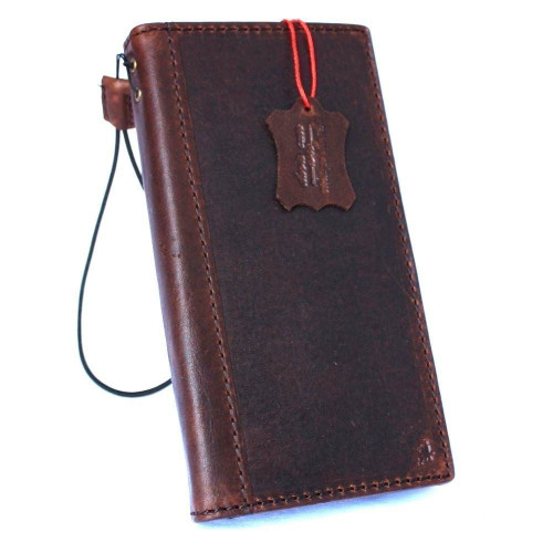 Genuine vintage leather case for samsung galaxy s9 plus book wallet luxury cover slim Jafo Holder Daviscase custom emboss stamping AU
