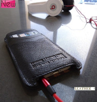 genuine real leather case fit for iphone 5 cover purse pull book iphone5 slot id