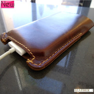 genuine 100% natural leather handmade case fit iphone 4s cover purse s 4 3 3g d