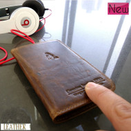 genuine leather Case cover phone PULL fit samsung galaxy i9000 s2 pocket card s