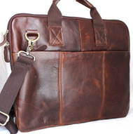 GENUINE FULL Leather Bag FIT iPad Notebook Business man LAPTOP TAB 13 2 3 12 11
