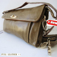 Genuine 100% leather woman purse tote Ladies wallet Clutch Light green bag new
