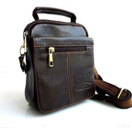 Genuine full Leather Shoulder Satchel Bag Messenger vintage cool cross body s m