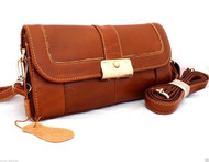 Genuine leather woman purse tote Long Lady wallet Clutch Handbag soft bag new id strip 10