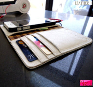 genuine full natural leather case for iphone 5 5s s cover book wallet stand holder handmade