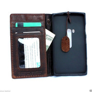 genuine italian leather Case for nokia lumia 920 n920 book wallet stand cover flip free shipping
