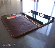 genuine natural leather case for SONY xperia z cover purse pouch book wallet stand sonyexz brown
