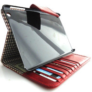 genuine real Leather Bag for iPad  3 2 case cover handbag apple CLOSE magnet id free shipping !