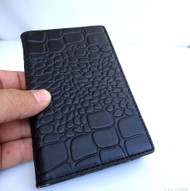 genuine leather Case For Samsung Galaxy Note 3 book wallet handmade brown uk