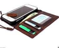 genuine vintage leather case for iphone 5 5s SE book wallet cover new handmade cards skin s