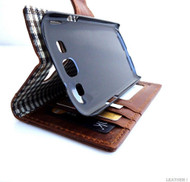 genuine vintage leather Case for Samsung Galaxy S3 s 3 book wallet stand holder slim handmade free shipping