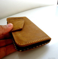 genuine full leather Case for Samsung Galaxy S4 s 4 book wallet handmade slim uk  retro