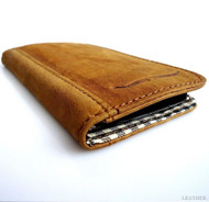 genuine vintage leather Case 3S Samsung Galaxy S3 SIII s 3 book wallet handmade