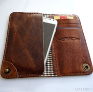 genuine leather Case For HTC One galaxy s3 s4 book wallet handmade butterfly s R