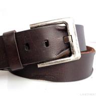 Genuine full Leather belt 43mm mens womens Waist handmade classic for size S new
