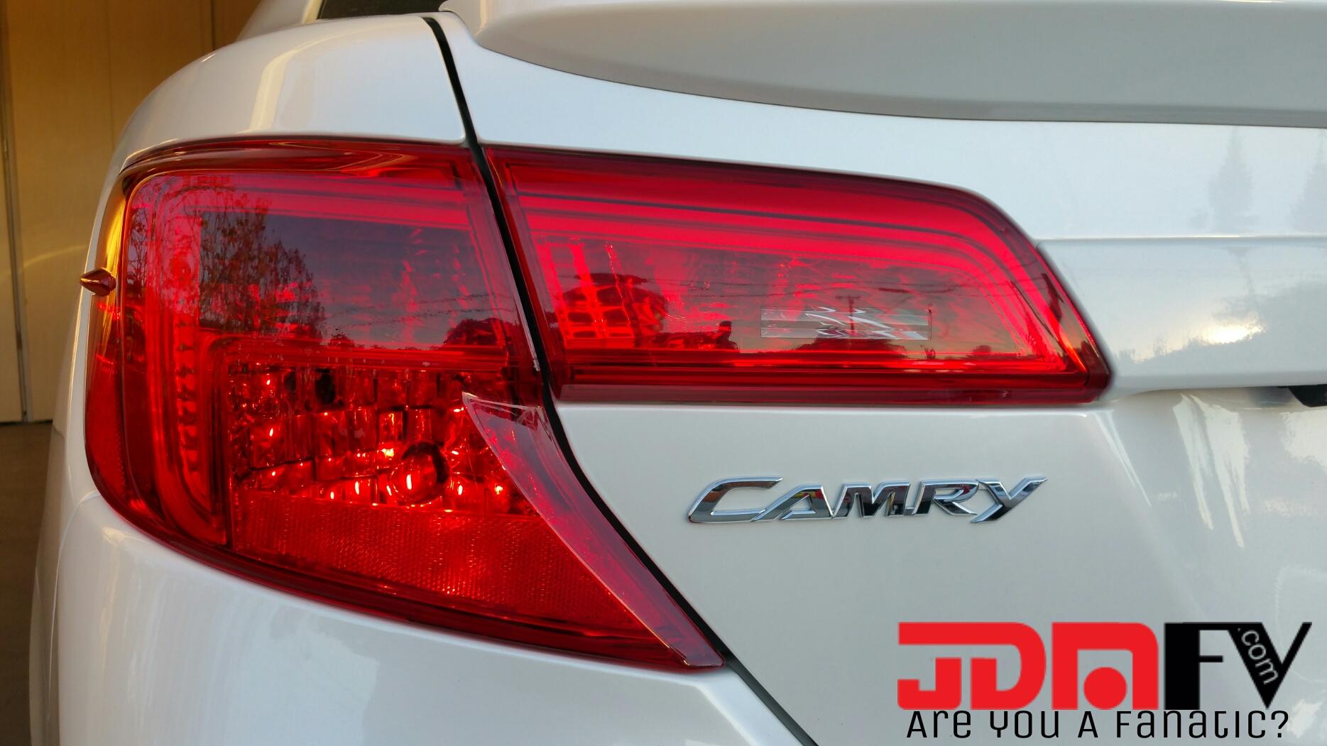 12 14 Toyota Camry Precut Redout Tail Light Overlays Tint