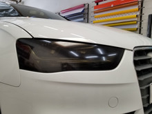 Smoked Head Light Overlays (13-16 Audi A4/S4)