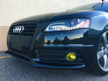 Yellow Fog Light Overlays (09-12 Audi A4/S4)