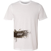 Muddy Tire Tracks STI T-Shirt - White