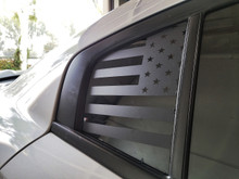 American Flag Quarter Window Decal (15-18 Charger)