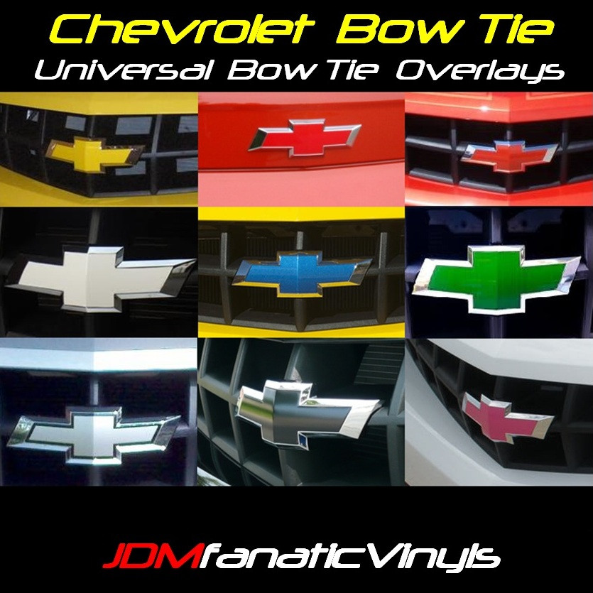 vinyl bowtie overlay chevy ss forum. Black Bedroom Furniture Sets. Home Design Ideas