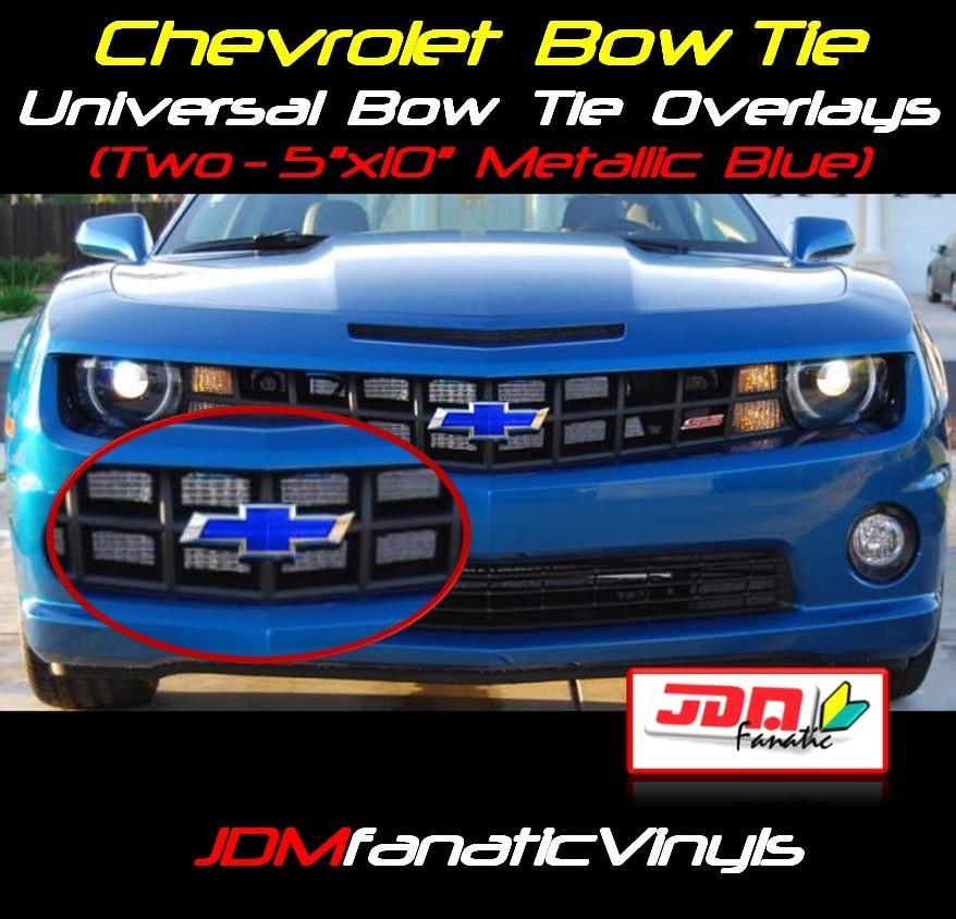 Vinyl Bowtie Overlay Chevy SS Forum - Chevy silverado bowtie decal