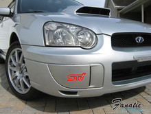 STI Fog Light Covers Decal/Sticker