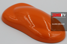 Gloss Orange Vehicle Wrap - JDMFV