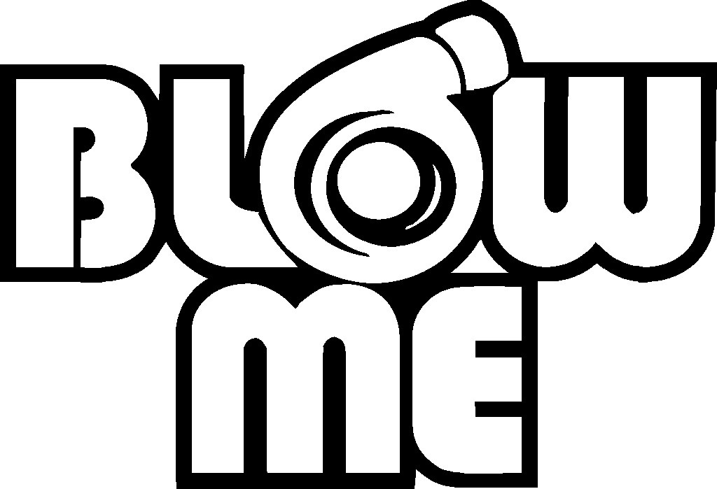 Blow Me Decal moreover  on lime yellow saab