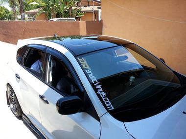 Roof Wrap Overlay (08 14 WRX/STI Hatchback)   JDMFV By Fanatic ...