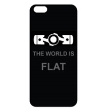 The World Is Flat - iPhone 5 Domed Skin
