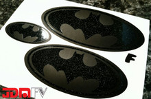 BATMAN - Emblem Front/Rear Overlays (15-17 WRX/STI)