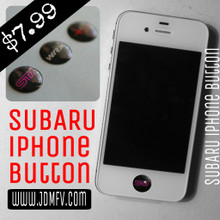 Subie iPhone Home Button Decal Overlay (3 pack)