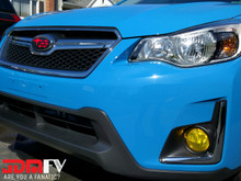 Precut Yellow Fog Light Overlays Tint (12-16 Impreza)