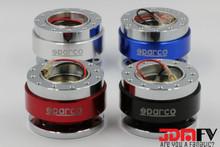SPARCO Aluminum Steering Wheel Quick Release