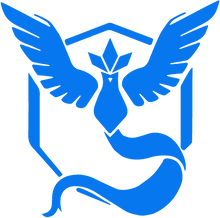 "Team Mystic Decal - One (1) - 5.5"" x 5.5"""