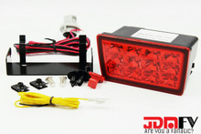 LED F1 STYLE REAR FOG LIGHT JDM 3rd brake light - REDOUT